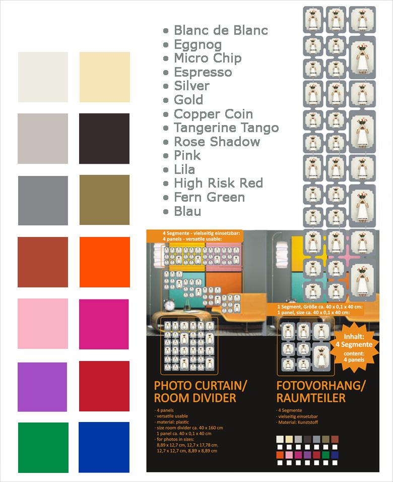 raumteiler zum aufh ngen fotocollage fotorahmen kartenhalter kunststoff paravent. Black Bedroom Furniture Sets. Home Design Ideas