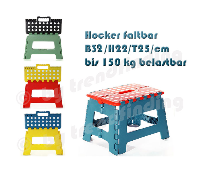 klappbarer hocker tritt stufe bank sitz klappbar 150 kg ebay. Black Bedroom Furniture Sets. Home Design Ideas